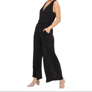 Lush Pants - Lush black jumpsuit